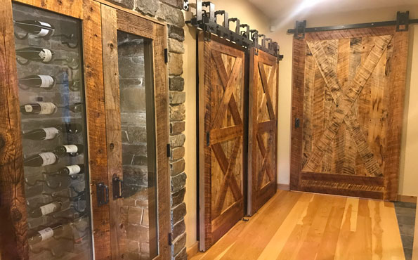 Recycled Barnwood Doors