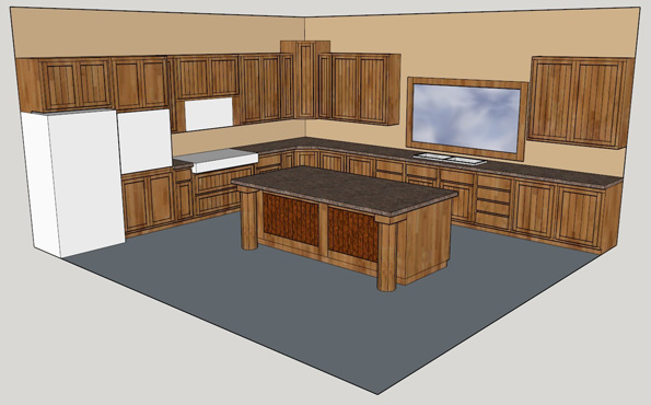 Kitchen Cabinets Bid